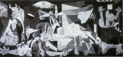 Guernica, 1937. Pablo Ruiz Picasso