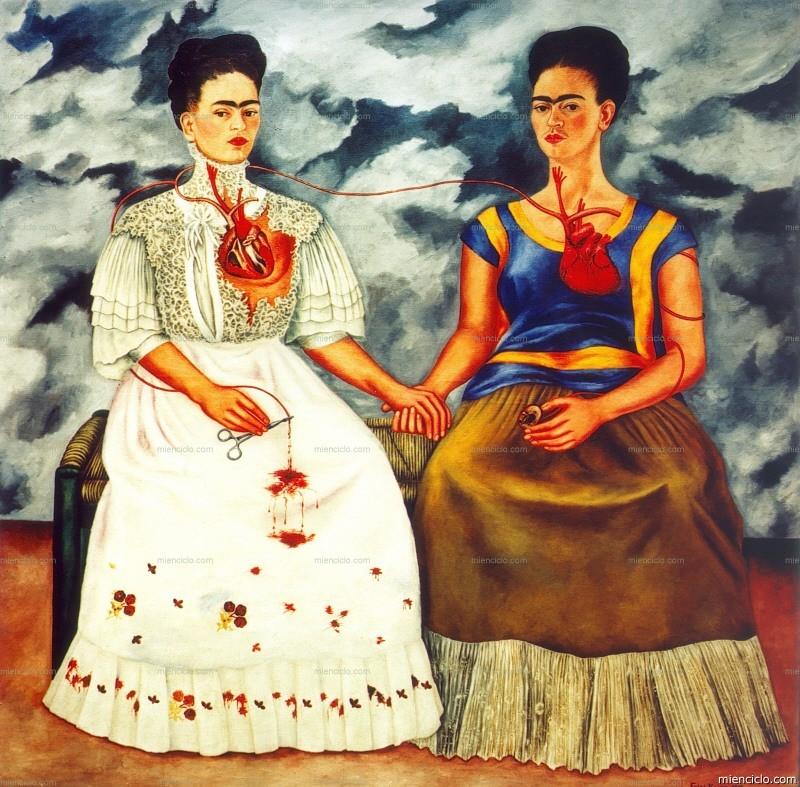 Las dos Fridas_Frida Kahlo