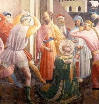 Esteban, primer mártir de la religión cristiana