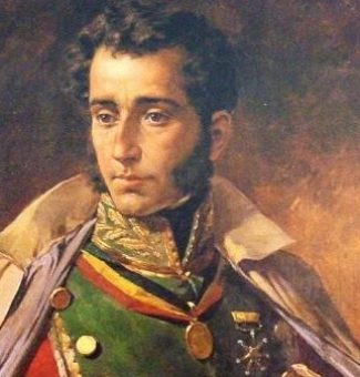 Tal día como hoy de 1795 nace Antonio José de Sucre, gran mariscal de Ayacucho
