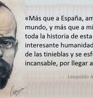Un 25 de abril de 1852 nace Leopoldo Alas, Clarín