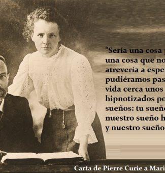 150 aniversario del nacimiento de Marie Curie