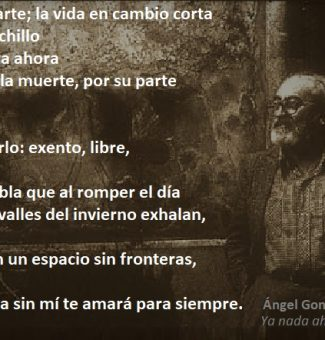 Se cumplen 10 años de la muerte del poeta Ángel González