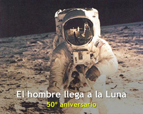 El-hombre-llega-a-la-Luna